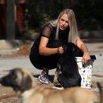 Polonyalı Monika sokak hayvanlarının koruyucusu oldu