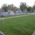 Lüleburgaz'da tören alanı yenileniyor