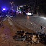 Aydın'da motosiklet direğe çarptı: 1 ölü, 1 yaralı