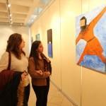 CÜ'de sığınmacılar konulu resim sergisi açıldı