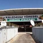 Kale'de yöresel ürün pazarı açıldı