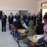 İmam Hatip Lisesi öğrencilerine ilk dersi Vali Azizoğlu verdi