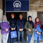 KYK yurdunda kalan öğrencilerden AA'ya ziyaret