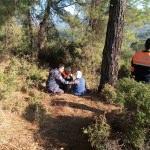 Muğla'da kaybolan yaşlı kadın bulundu