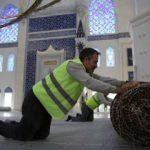 Çamlıca caminin tamamlanmasına bir adım kaldı