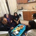 Başkan Aktaş'tan öğrenci evine ziyaret