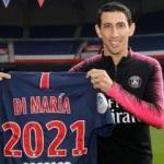 PSG'den Di Maria'ya yeni sözleşme