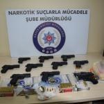 Düzce'de uyuşturucu ve silah ticareti operasyonu