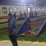 300 yolculu tren Çatalca'da arıza yaptı