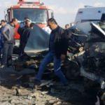 Afyonkarahisar'da feci kaza! Ölü ve yaralılar var