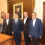 Balkan Rumeli Türkleri Konfederasyonundan ziyaret