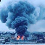 Rusya'da büyük çaplı yangın! Kaçıyorlar
