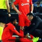 Sakatlanan Lens'ten kötü haber! Beşiktaş açıkladı