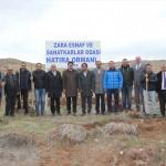Zara Esnaf Odası hatıra ormanı kurdu