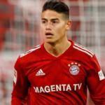 James Rodriguez'den Bayern'e kötü haber