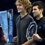 Djokovic finalde Zverev'e kaybetti