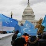 Washington'da Çin protestosu! Hesap verecekler