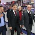 TMSF Başkanı Gülal Kanal 7'yi ziyaret etti