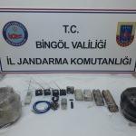 Bingöl'de patlayıcı düzeneği ele geçirildi