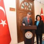 Belçika Ankara Büyükelçisi Malherbe, Vali Civelek'i ziyaret etti