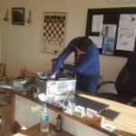 Kozluk'ta bilgisayar onarımına eğitim gönüllülerinden destek