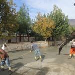 Kulp Belediyesi, okul bahçesini düzenledi