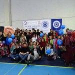 Üniversite öğrencileri, Hisarcık'ta bir okulda kütüphane kurdu
