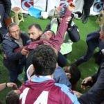 Trabzon'da fenalaşan taraftar hastaneye kaldırıldı