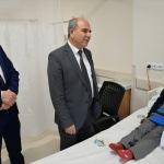 Konya İl Sağlık Müdürü Koç'tan hastane ziyareti