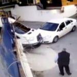 İstanbul'da hırsızların ölümüne kaçışı kamerada