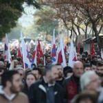 Yunanistan'da grev! Hayat durma noktasına geldi
