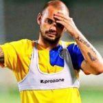 Sneijder'den açıklama! Futbolu bırakacak mı?