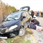 Muğla'da otomobil kanala düştü: 1 yaralı