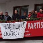 CHP Yomra İlçe Başkanlığında oturma eylemi başlatıldı