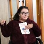 Yazdığı kitabın geliri engellilere gidecek