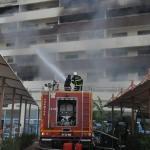 GÜNCELLEME 2 - Hatay'da otelde yangın