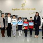 SANKO Okullarının 4 resmi Antartika'da sergilenecek