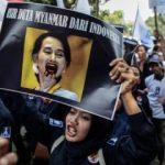 Endonezya'dan Arakanlı Müslümanlara destek!