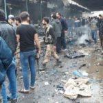 Afrin'de halk pazarına bombalı saldırı! Ölüler var