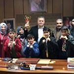 Sporculardan Başkan İhsan Akmurat'a ziyaret