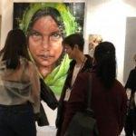Türk ressam sanat galerisine damga vurdu