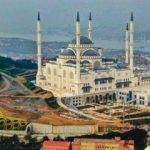 Çamlıca Camii'nde sona doğru