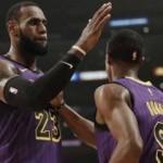 LeBron James 'triple-double' yaptı! Lakers kazandı