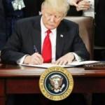 Trump imzayı attı: Çılgın adım