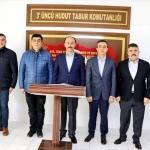 Vali Erin'den Süleyman Şah Türbesi'ne ziyaret