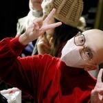 Lösemi hastası çocuklara için yeni yıl partisi