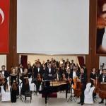 Balkan Senfoni Orkestrası Tekirdağ'da konser verdi