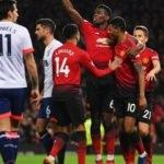 Manchester United'ı yine Pogba taşıdı