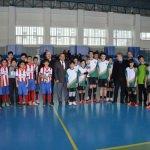 Futsal final maçı Havza'da yapıldı