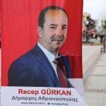 """Recep Gürkan'ın """"Adrianoupolis'li yeni yıl kutlamasına tepki"""